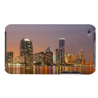 Miami Skyline at Dusk iPod Case-Mate Case
