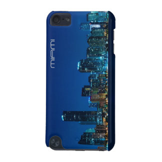 Miami skyline at night iPod touch (5th generation) case