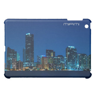 Miami skyline at night case for the iPad mini