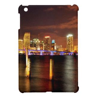 Miami skyline at night, Florida iPad Mini Cases