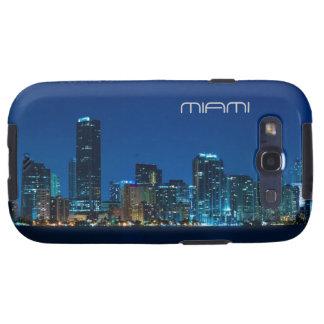 Miami skyline at night galaxy s3 case