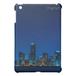 Miami skyline at night - iPad case