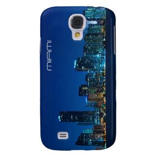 Miami skyline at night - iPhone 3 case