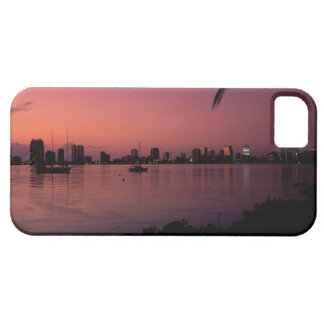 Miami Skyline at Sunset iPhone 5 Cases