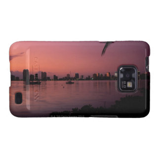 Miami Skyline at Sunset Samsung Galaxy S2 Cover