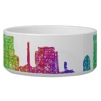 Miami skyline bowl