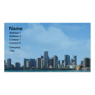 Miami Business Cards & Templates