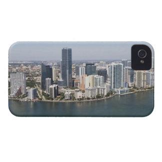 Miami Skyline iPhone 4 Cases