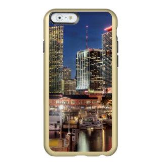 Miami skyline city in Florida Incipio Feather® Shine iPhone 6 Case