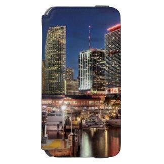 Miami skyline city in Florida Incipio Watson™ iPhone 6 Wallet Case