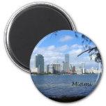 Miami Skyline Fridge Magnets