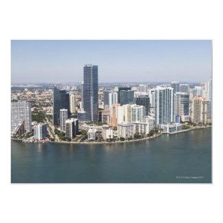 "Miami Skyline 5"" X 7"" Invitation Card"