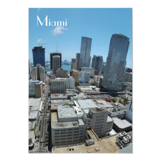 Miami skyline - Invite