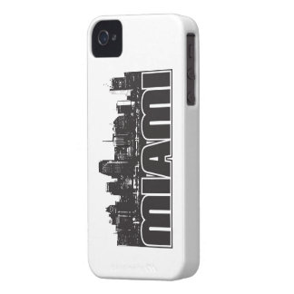 Miami Skyline iPhone 4 Case
