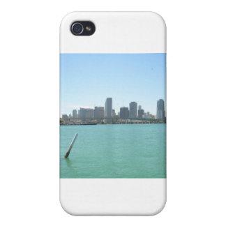 Miami Skyline iPhone 4/4S Cases