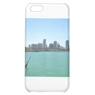 Miami Skyline iPhone 5C Cases