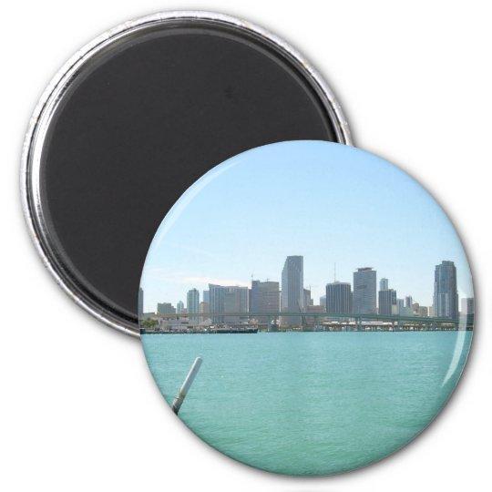 Miami Skyline Magnet