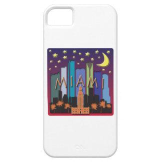 Miami Skyline Mega Color iPhone 5 Cover