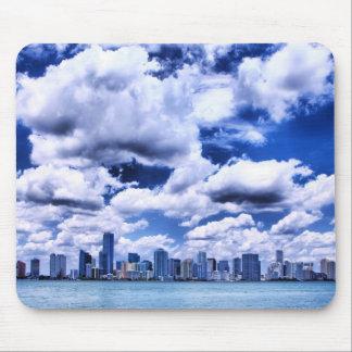 Miami skyline - Mousepad