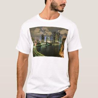 Miami skyline night T-Shirt