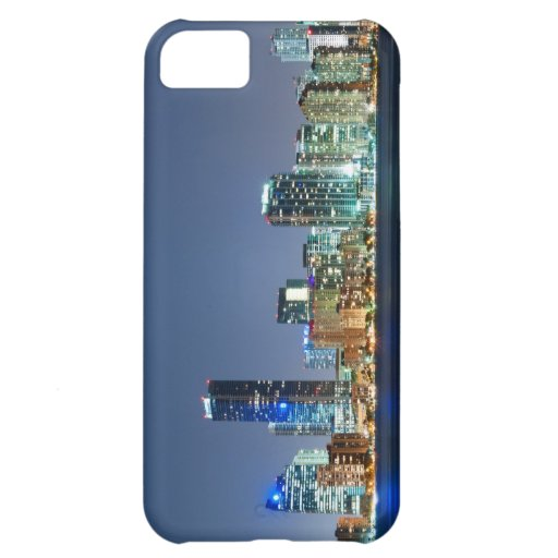 Miami Skyline Panorama Cover For iPhone 5C