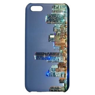 Miami Skyline Panorama iPhone 5C Cases