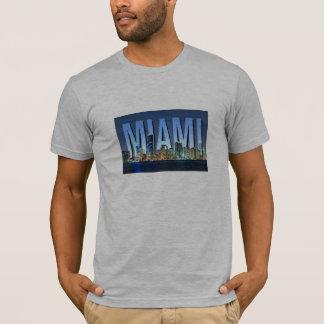 Miami Skyline Panorama T-Shirt