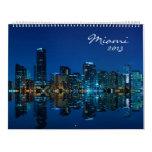 Miami Skyline Photo Calendar 2013