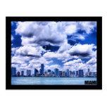 Miami skyline - Postcard