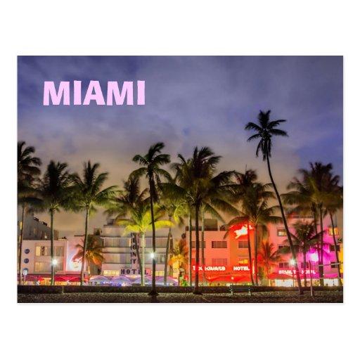 Florida Miami Beach Postcard