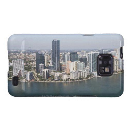 Miami Skyline Samsung Galaxy S2 Case