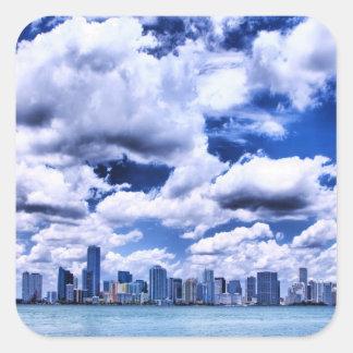 Miami skyline - Sticker