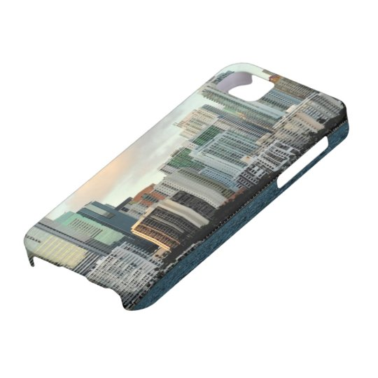 Miami skyscrapers against wide clear sky iPhone SE/5/5s case