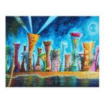 Miami South Beach Florida Pop Art Fun Postcard