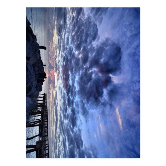 Miami South Point Sunrise Postcard