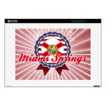 Miami Springs, FL Decal For Laptop