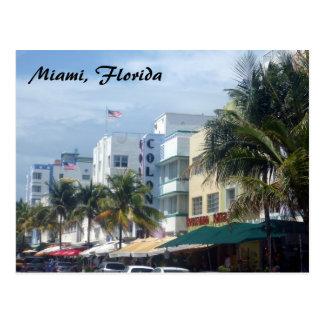 miami street postcard