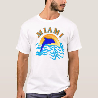MIAMI SUNSET BASIC T-SHIRT