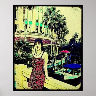 Miami Vice (GTA style) Poster