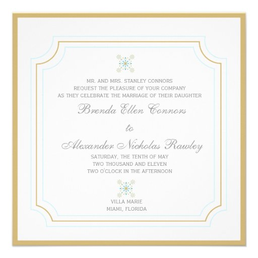 Miami - Wedding invitations