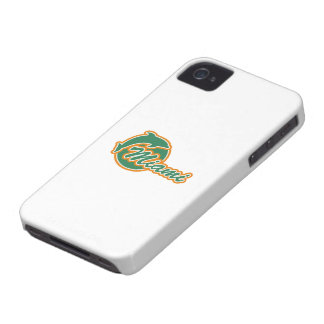 Miami with Dolphin iPhone 4 ID Case-Mate Case-Mate iPhone 4 Cases
