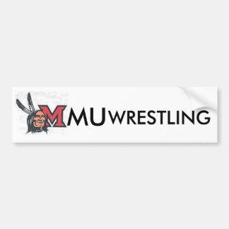 MiamiOhioRedskins2, WRESTLING, MU Bumper Sticker