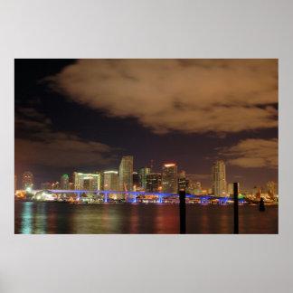 Miami's Downtown. Poster