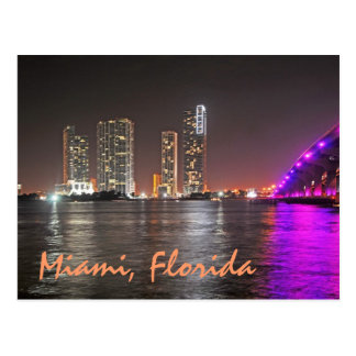 Miami's Wynwood skyline Postcard