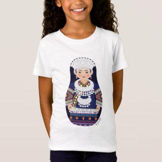 Miao Chinese Matryoshka Girls Baby Doll (Fitted) T-Shirt