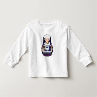 Miao Chinese Matryoshka Toddler Long Sleeve Tshirts