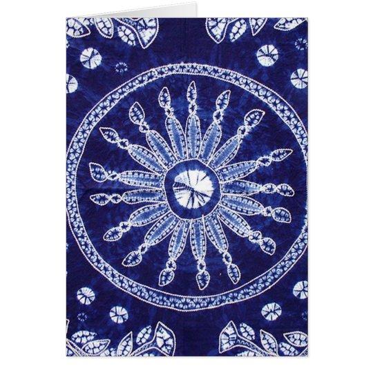 Miao Indigo Tie-Dye #4 Card