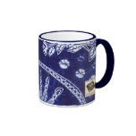 Miao Indigo Tie-Dye #4 Coffee Mug