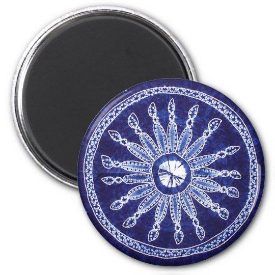 Miao Indigo Tie-Dye #4 Magnet