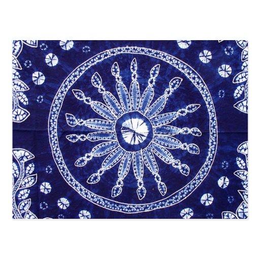 Miao Indigo Tie-Dye #4 Post Card
